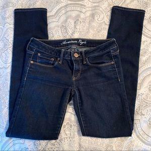 American Eagle Dark Wash Skinny Jean